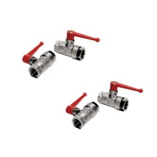 0469 - Double Female Vented BSPP Ball Valve