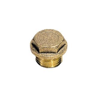 Legris 0201 Hex Head Plug with Collar