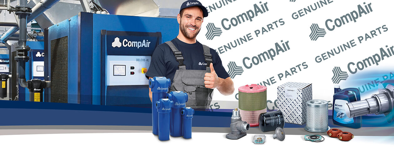 Full range of Air Compressor Spares and Technical Support