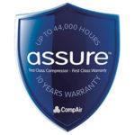 CompAir 10 Year Warranty