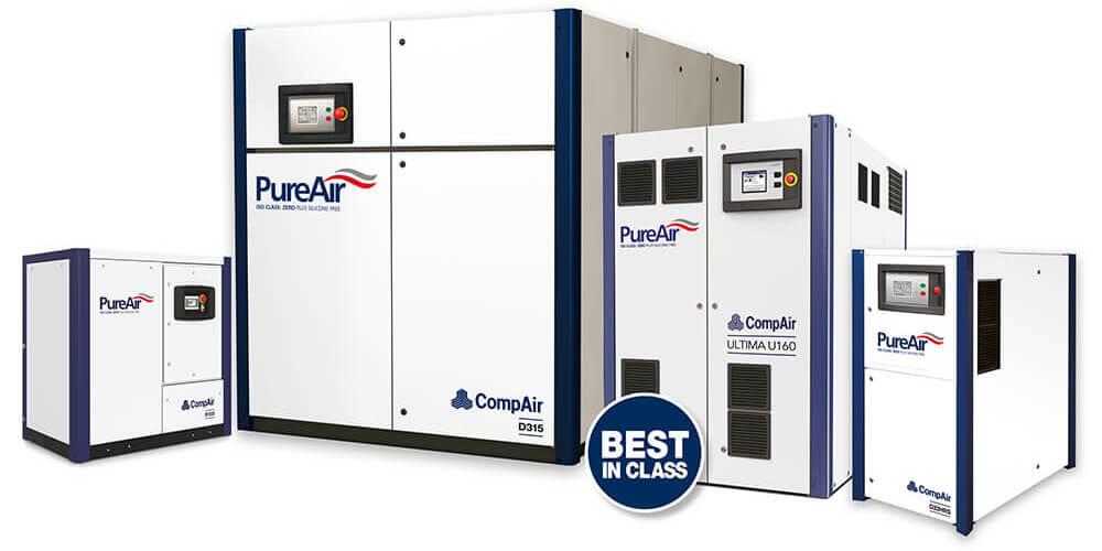 CompAir Oil Free Air Compressors